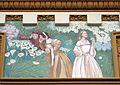 15 Casa Bernat i Creus, av. Tibidabo 27 (Barcelona), pintures de la façana.jpg