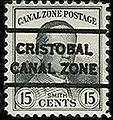 15 cents, Canal Zone precancel 1928 (cropped).jpg