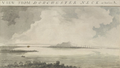 1773 FromDorchesterNeck BostonHarbor byPierie BritishLibrary.png