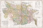 1776 Rennell - Dury Wall Map of Bihar and Bengal, India - Geographicus - BaharBengal-dury-1776.jpg