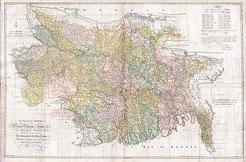 Location of Nawabs of Bengal and Murshidabad
