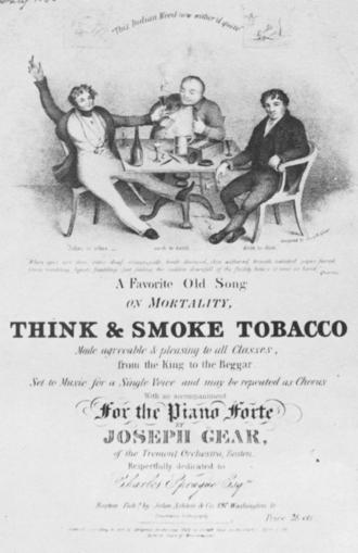 John Ashton (music publisher) - Image: 1836 Smoke Gear Ashton Boston