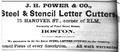 1873 Power HanoverSt ElmSt BostonDirectory.png