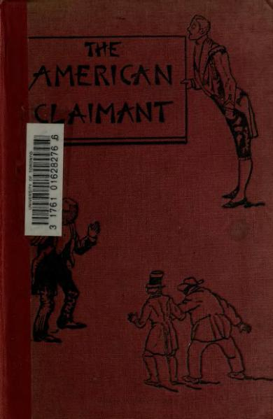 File:1892. The American Claimant.djvu