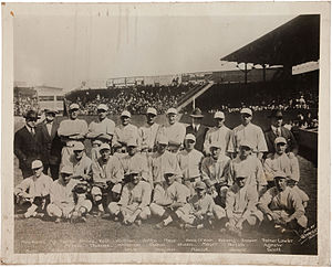 1918 Boston Red Sox season - Image: 1918 Boston Red Sox