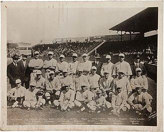 1918 Boston Red Sox season - 1918 Boston Red Sox team photo