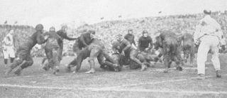 1922 Rose Bowl annual NCAA football game