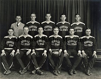 Oshkosh All-Stars - First season: 1929-1930 Oshkosh All-Stars