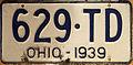 1939 Ohio license plate.JPG