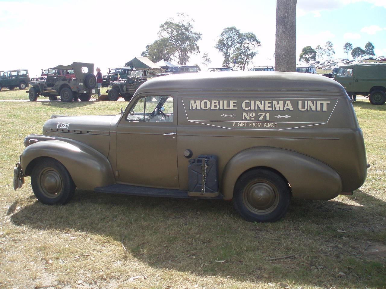 File:1940 Chevrolet panel van - Mobile Cinema Unit (5083157149 ...