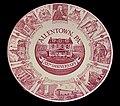 1962 - Allentown Bicentennial Plate (Red) - Allentown PA.jpg