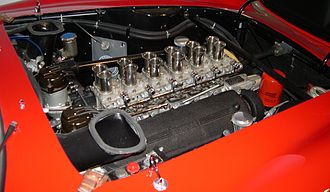 Ferrari 250 GTO - Tipo 168/62 Colombo V12 engine