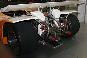 Turbocharged petrol engines - 1970 Toyota 7, twin turbocharged racing car