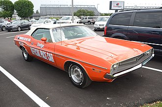 1971 Indianapolis 500 - 1971 Dodge Challenger pace car.