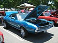 1972 AMC Javelin blue NC-fr.jpg