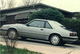 Ford Mustang (third generation) - 1984 Mustang SVO