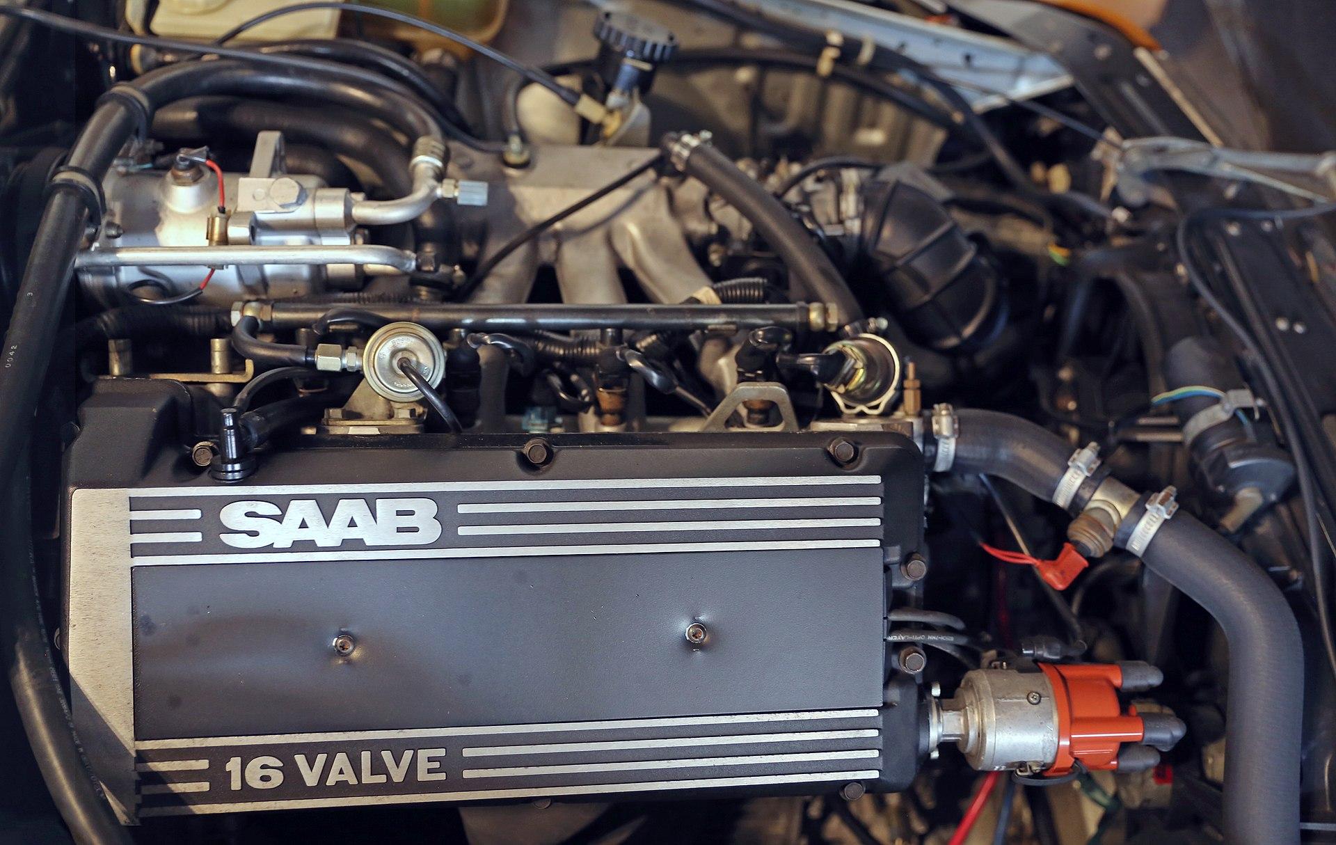 1920px-1986_Saab_B202_(na)_engine,_right_side  Volvo Turbo Engine Diagram on