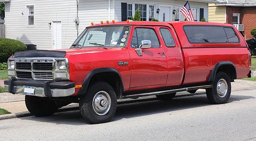 1993 Dodge Ram W250 Club Cab 4x4 Cummins td