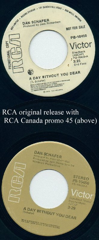 Music of Michigan - Image: 1st RCA w Canada promo