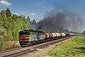 2ТЭ10В-4127, Russia, Orenburg region, Koltubanka - Neprik stretch (Trainpix 212716).jpg