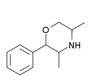 Substituted phenylmorpholine - Image: 2 phenyl 3,5 dimethylmorpholine