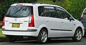 Mazda Premacy - 2001–2002 Mazda Premacy (CP) hatchback (Australia; pre-facelift)