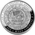 2006 Benjamin Franklin Founding Father Silver Dollar (Reverse).png