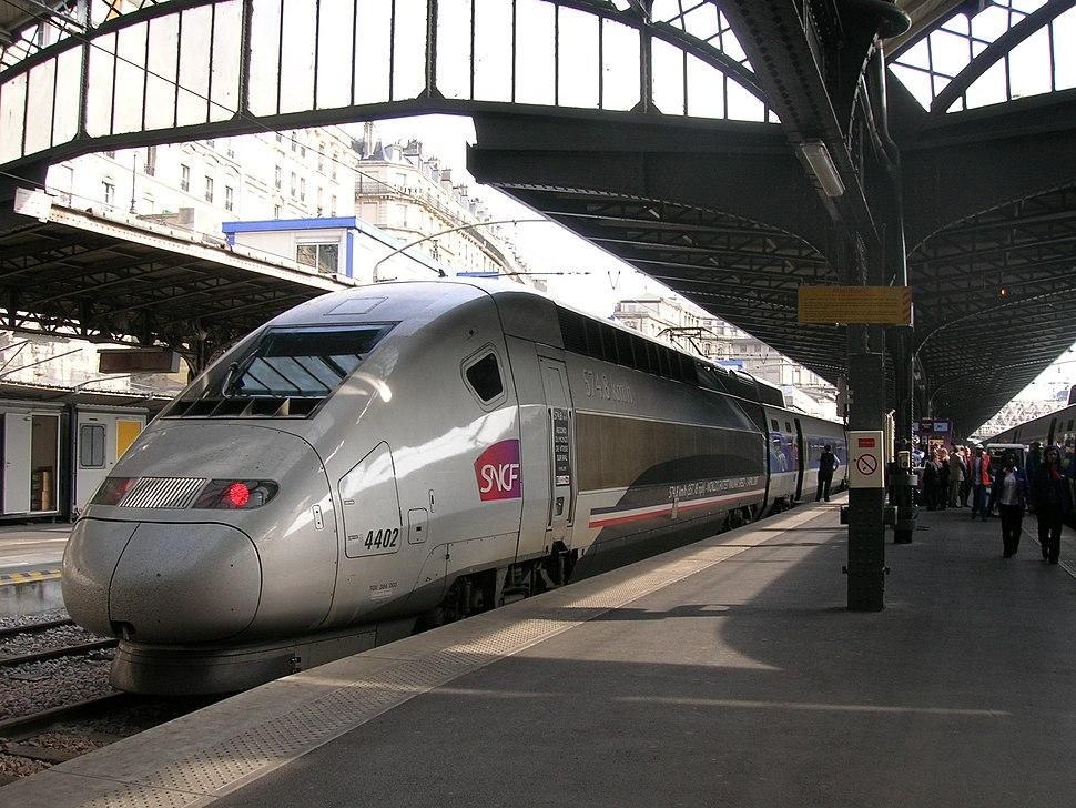 2007-06-18 - Gare de Paris-Est - TGV 4402