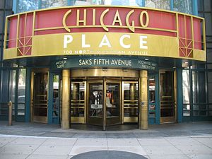 Chicago Place - Chicago Place entrance on the Magnificent Mile