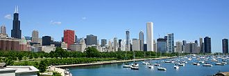 Chicago metropolitan area - The Chicago skyline
