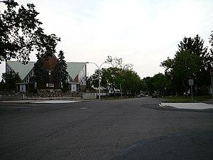 Sherbrooke, Edmonton - Sherbrooke Avenue.