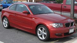 BMW 128i coupe 2008