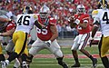 20091114 Justin Boren blocks for Terrelle Pryor.jpg