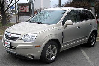 Opel Antara - Saturn Vue Hybrid (US)