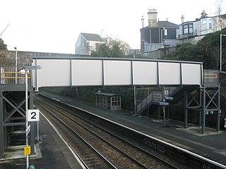 Devonport railway station Station in Devon, England