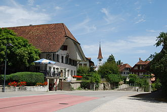 Frauenkappelen - Frauenkappelen village