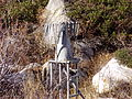 2012-10-20 P1010404 Zoomed view of an old precipitation gauge just downstream of Angel Lake, Nevada.JPG