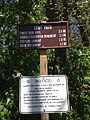 2013-05-05 13 33 06 Sign along the Long Path in Palisades Interstate Park.JPG