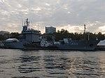 2013-08-29 Севастополь. Вспомогательное судно A512 Mosel ВМС Германии (7).JPG