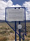 2014-05-21 13 19 25 Nevada Historical Marker at Schellbourne, Nevada.JPG