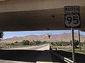 2014-06-12 13 53 36 First reassurance sign along U.S. Route 95 northbound north of downtown Winnemucca, Nevada.JPG
