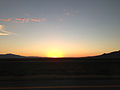 2014-07-06 20 23 17 Sunset viewed from Interstate 80 east of Battle Mountain, Nevada.JPG
