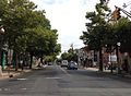 2014-08-30 11 28 55 View north along Brunswick Avenue (U.S. Route 206 northbound) at Olden Avenue (Mercer County Route 622) in Trenton, New Jersey.JPG