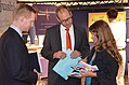 2014-10-08 Wirtschaftsmesse Hannover 2014, (346) Alexander Skubowius, Ulf-Birger Franz und Gil Maria Koebberling.JPG