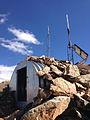 2014-10-09 12 38 24 Metal shelter on the summit of Granite Peak in Humboldt County, Nevada.JPG