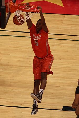 2014–15 UCLA Bruins men's basketball team - Incoming freshman Kevon Looney at the 2014 McDonald's All-American Game