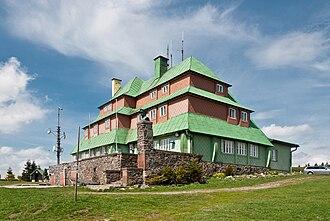 Orlické hory - Shelter Masarykova Chata in Orlicke Hory