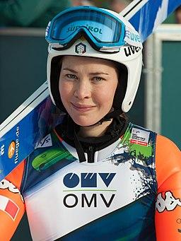 20150201 1316 Skispringen Hinzenbach Elena Runggaldier 8340