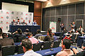 2015 Wikimania press conference - JS - 5.jpg