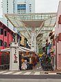 2016 Singapur, Chinatown, Wejście do ulicy Smitha - Chinatown Food Street (02).jpg